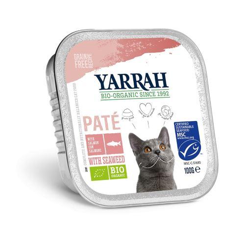 Yarrah BIO Paté losos, krevety a Omega 3 and 6 100 g