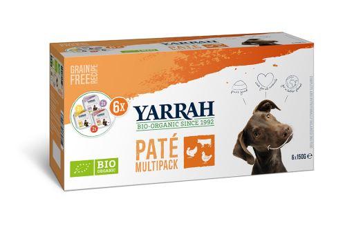 Yarrah BIO Multipack psí vaničky 6x150 g