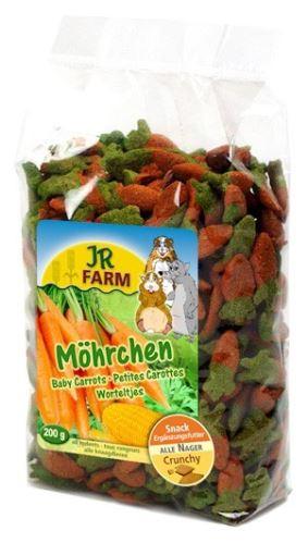 JR Farm Mrkvičky pro hlodavce 200 g