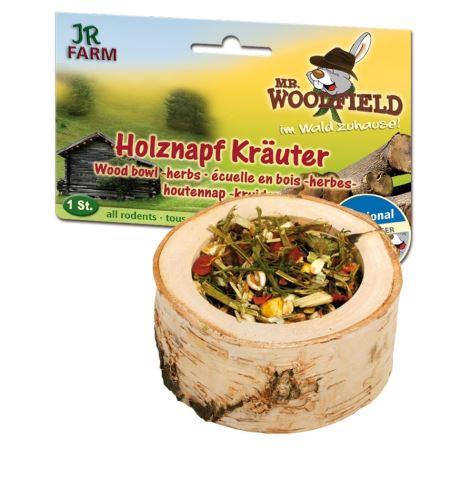 JR Farm Dřevěná miska s bylinkovou náplní 1 kus