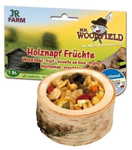 JR Farm Dřevěná miska s ovocnou náplní 1 kus
