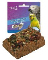 JR Birds Hliněný špalíček s minerály 1 ks