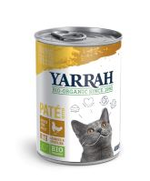 Yarrah BIO Paté s kuřetem 400 g