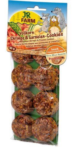 JR Farm Celozrnné sušenky s kraby 80 g
